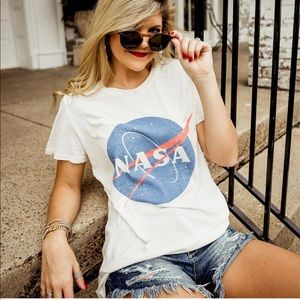 ✨ NASA Washed Out Graphic Tee